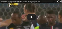Zlatan, dubla pentru PSG
