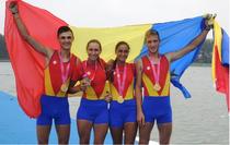 Medalii de aur pentru Romania la canotaj