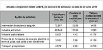 Situatia companiilor listate la BVB