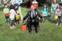Karl-Thomas Neumann in Ice Bucket Challenge