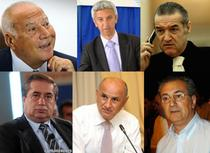 Voiculescu, Diaconescu, Becali, Niculae, Copos si Padure