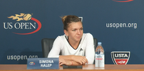 Simona Halep, conferinta de presa la US Open