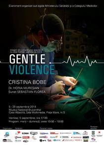 """Afis """"Gentle Violence"""""""