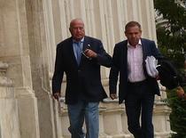 Dan Voiculescu si avocatul sau Gheorghita Mateut