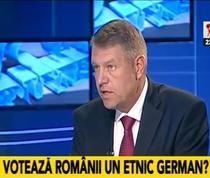 Klaus Iohannis la Realitatea TV