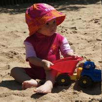 Pielea bebelusilor si copiilor mici e cea mai vulnerabila