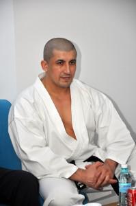 Cornel Musat - patronul firmei de paza, fost campion mondial la karate