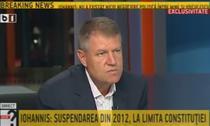 Klaus Iohannis la B1 TV