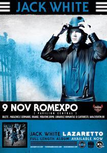 Jack White la Romexpo