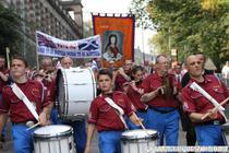marsul unionistilor din Scotia