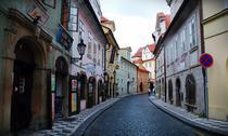 Strada din Praga, Cehia