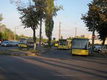 Autobuze la Gara de Vest din Ploiesti
