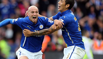 Leicester, victorie mare cu Manchester United