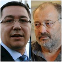 Victor Ponta si Stelian Tanase