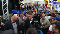 Klaus Iohannis, dupa lansarea candidaturii