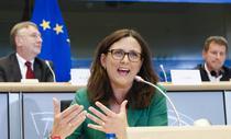 Cecilia Malmstrom, comisarul european desemnat la comert