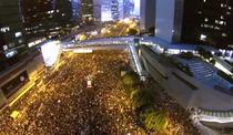Amploarea protestelor din Hong Kong