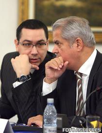 Victor Ponta si Adrian Nastase