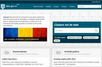 Portalul national de date deschise