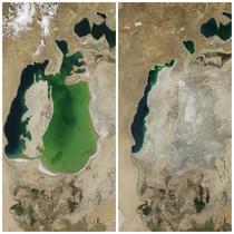 Marea Aral 2000/ Marea Aral 2014