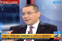 Victor Ponta, la Sinteza Zilei