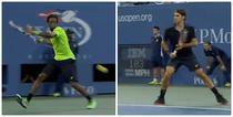 Monfils si Federer, spectacol total la US Open