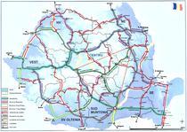 Harta proiectelor rutiere in MPGT - oficial
