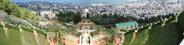 Primavara in Haifa