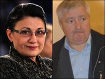 Ecaterina Andronescu si Serban Mihailescu