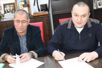 Marin Mindrila, patronul Mari Vila si primarul Ploiestului, Iulian Badescu (PSD)