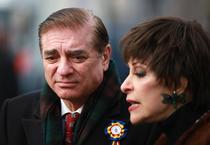 Paul al României si sotia sa, Lia (foto arhiva)