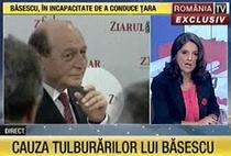Imaginile prezentate de Romania TV