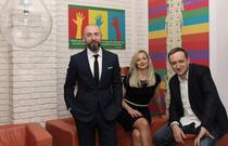 Razvan Capanescu, Andreea Boaca si Lorand Balint