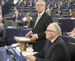 Juncker si secundul sau, Timmermans