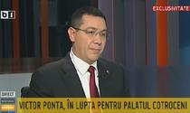 Victor Ponta la B1 TV