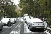 Prima ninsoare in Bucuresti