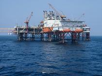 Platforma centrala de productie din Marea Neagra