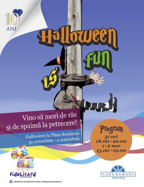 Halloween Plaza Romania