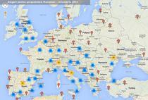 Harta MAE cu sectiile de vot