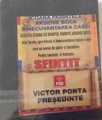 Iconite Arsenie Boca - Ponta