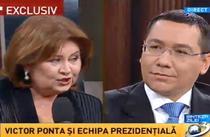 Florina Cercel si Victor Ponta