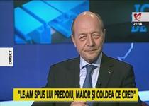Traian Basescu la Jocuri de putere