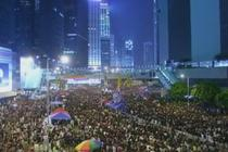 Proteste pro-democratie in Hong Kong