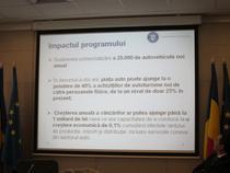 Impactul programului, conform Ministerului Economiei