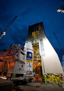 Sateliti Galileo, pregatiti pentru lansare