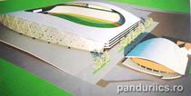 Proiectul noului Stadion Municipal Tudor Vladimirescu
