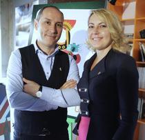 Marian Alecsiu si Dana Becheru, fondatorii F64