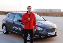 Adrian Mitrea prezinta Ford Driving Skills for Life in Romania