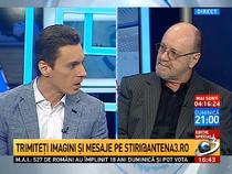 Nicu Alifantis la Antena 3, pe 2 noiembrie