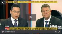 Ponta vs Iohannis la B1 TV